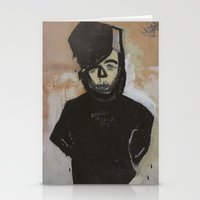 goth Stationery Cards featuring Goth by Rick Onorato