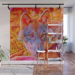 Popular Animals - Wolf Wall Mural