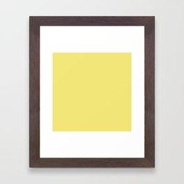 Lemon Verbena F3E779 Framed Art Print