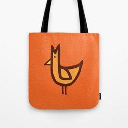 Chicken Print Tote Bag