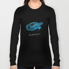 Rainbow Licorice Gourami Long Sleeve T-shirt