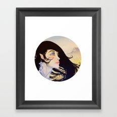 Evening Star Framed Art Print
