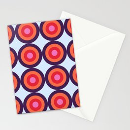 Lehua 16 - Colorful Classic Abstract Minimal Retro 70s Style Graphic Design Stationery Cards