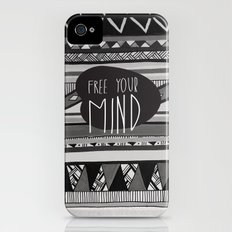 FREE YOUR MIND iPhone (4, 4s) Slim Case