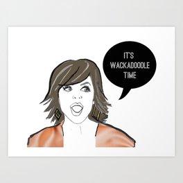 Wackadoodle Art Print