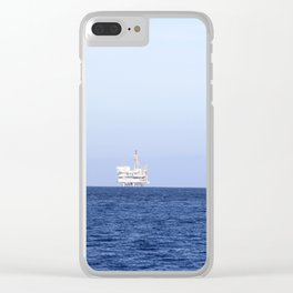 Oil Rig Clear iPhone Case