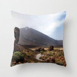 Teide Throw Pillow