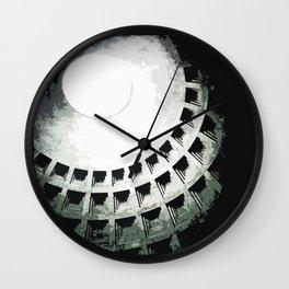 rome's pantheon Wall Clock