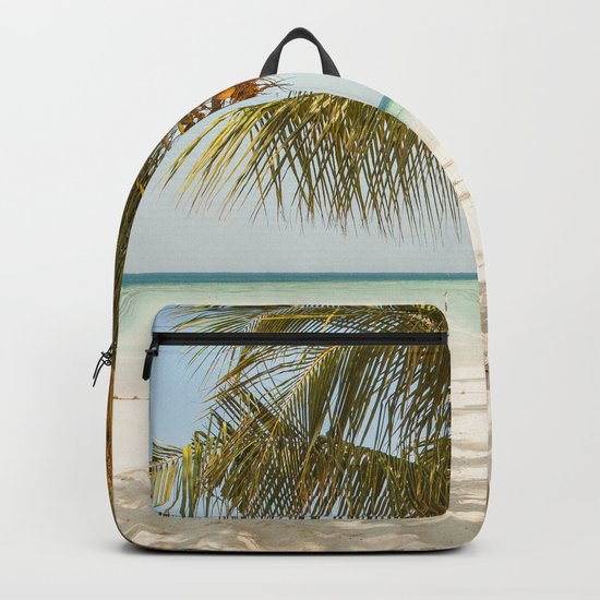 Palm Tree Paradise III Backpack