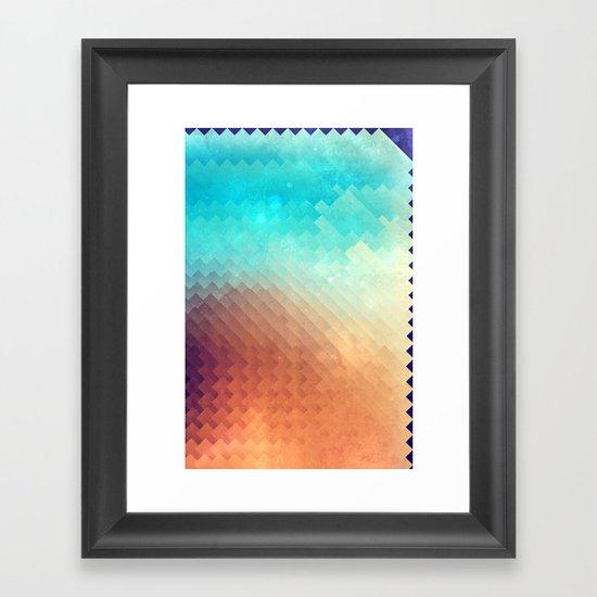 plyyn hyte Framed Art Print