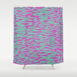 Dappled Aegean Shower Curtain