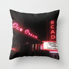 SCAD Throw Pillow