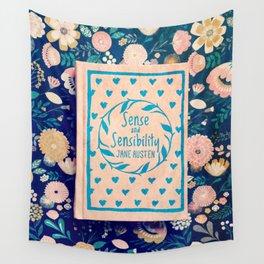Sense and Sensibility Book Photo Wall Tapestry
