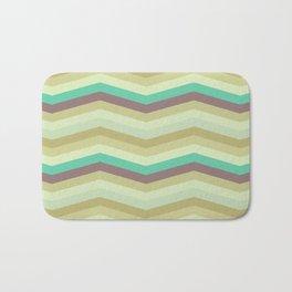 Chevron pattern Bath Mat