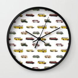 Drive my bus Wall Clock