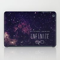 infinite iPad Cases featuring Infinite by Enyalie