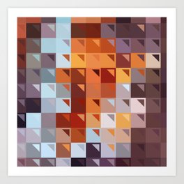 Sophistication of Color Art Print