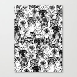 just cats Canvas Print