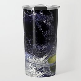 Splash de copa de agua con limon Travel Mug