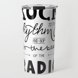 Kings of Leon hand-lettered print Travel Mug