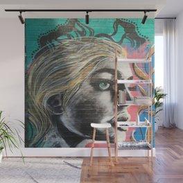 Graffiti Diva Wall Mural