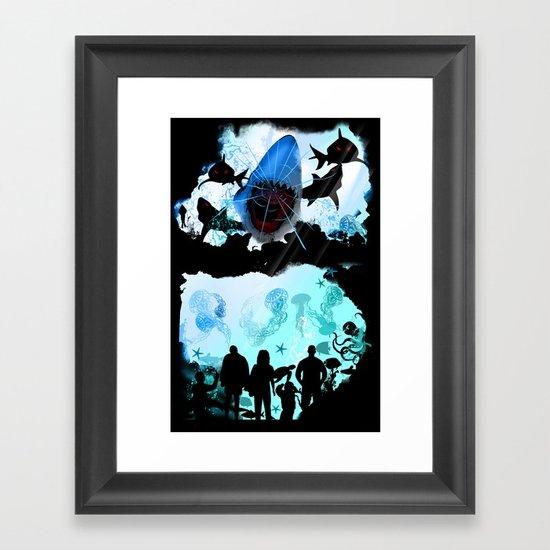 RUN Framed Art Print