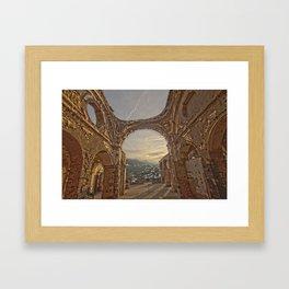 Castle Overlook Framed Art Print