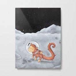 Lunar Valentine Metal Print