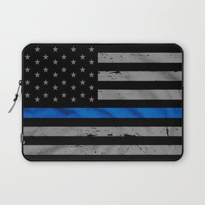 Thin Blue Line Laptop Sleeve
