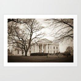The White House :: Washington DC Art Print