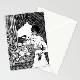 Ectoplasm: Inktober Illustration Stationery Cards