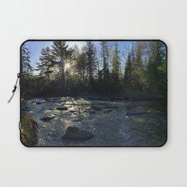 Spring on the Carrabassett River (3) Laptop Sleeve