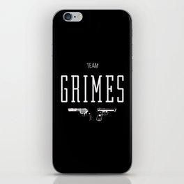 Team Grimes iPhone Skin
