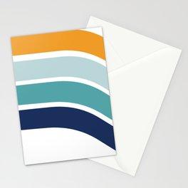 Sunrise Retro 70's Rainbow Stationery Cards