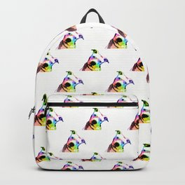 Pit bull | Rainbow Series | Pop Art Backpack