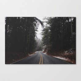Parting Pines Canvas Print