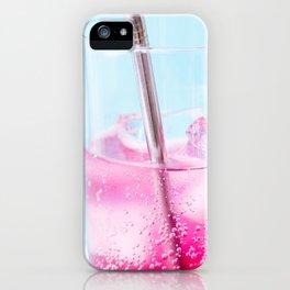 Blueberry Soda iPhone Case