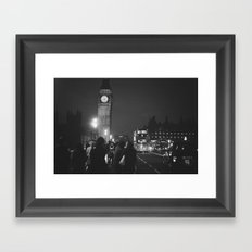 London Tourist Framed Art Print