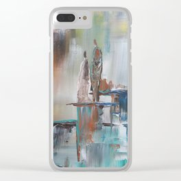 Waterfall Japanese Waterblock Clear iPhone Case