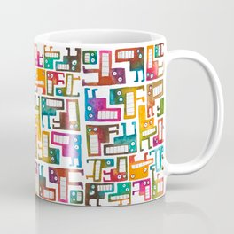 Tetris Monsters Coffee Mug
