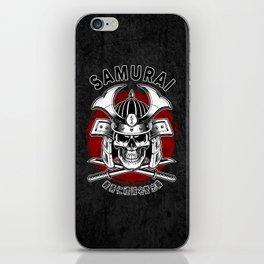 Bushido Samurai Skull iPhone Skin