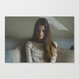 Virgin Thoughts Canvas Print