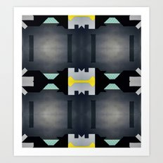 Digital Playground #1 Art Print