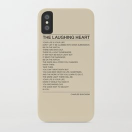 The Laughing Heart iPhone Case
