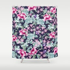 Floral Pattern 1 Shower Curtain