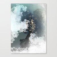 flight Canvas Prints featuring flight by Rafael Igualada