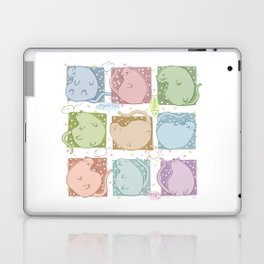 Blobby Cats Laptop & iPad Skin