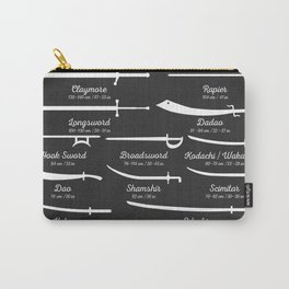 Sword Types Carry-All Pouch