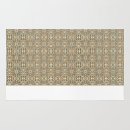 Digital Quilted Padded Lofts - Yellow Rug