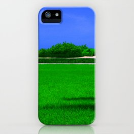 Lawn iPhone Case